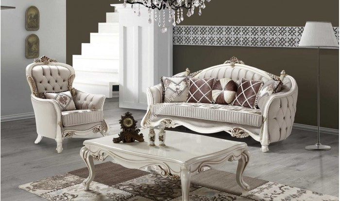 inegöl mobilya İnegöl Bağdat Klasik Koltuk Takımı