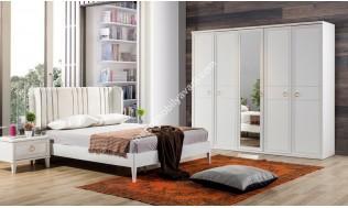 inegöl mobilya Angela Beyaz Yatak Odası Takımı