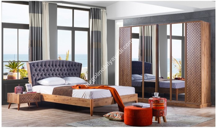 inegöl mobilya İnegöl Rozela Yatak Odası Takımı