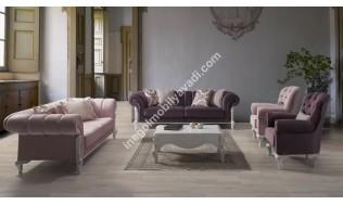 inegöl mobilya Lina Koltuk Takımı 3+3+1