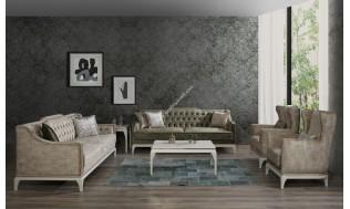 inegöl mobilya Rose Artdeco Koltuk Takımı 3+3+1