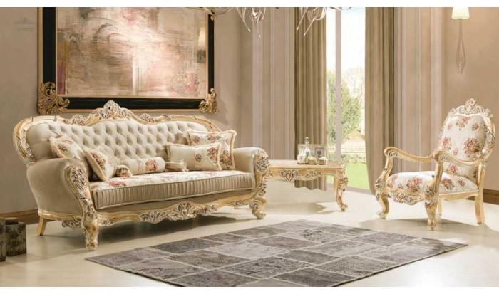 inegöl mobilya İnegöl King 2 Klasik Koltuk Takımı