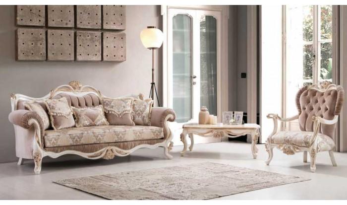 inegöl mobilya İnegöl Lara Klasik Koltuk Takımı