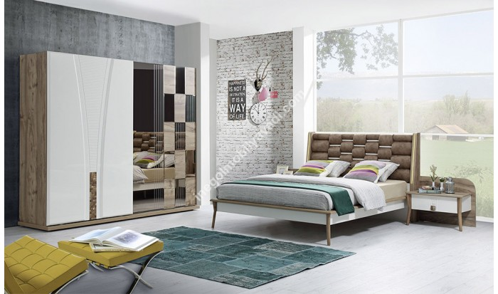 inegöl mobilya İnegöl Atlantis Yatak Odası Takımı