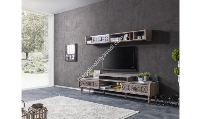 inegöl mobilya İnegöl Hünkar Duvar Ünitesi Takımı