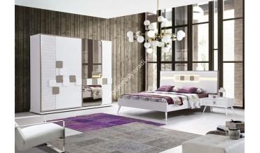 Madrid Bazalı Yatak Odası Takımı