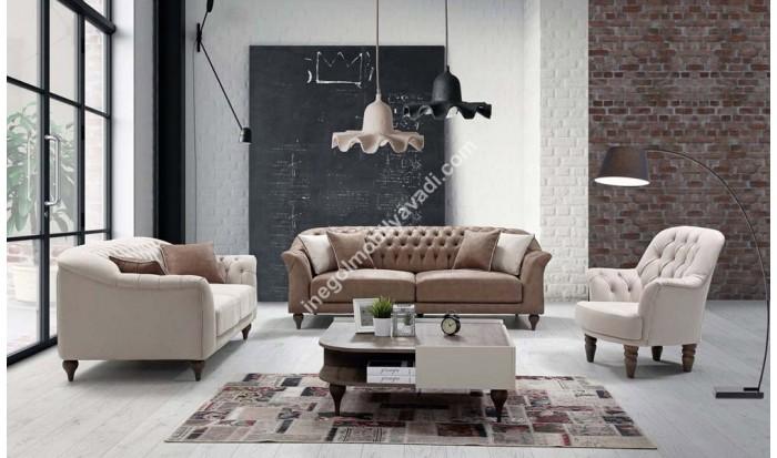 inegöl mobilya İnegöl Milano Chester Koltuk Takımı