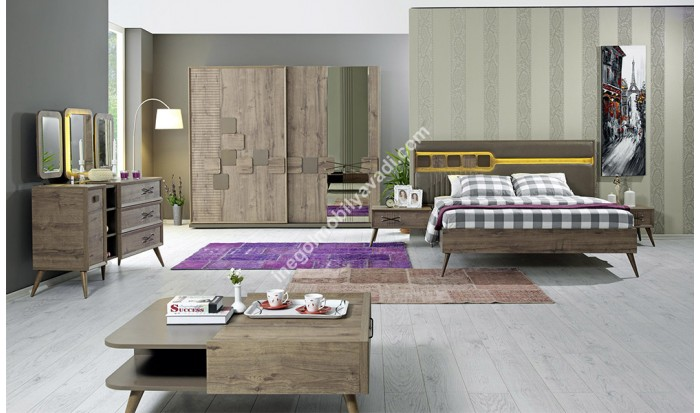 inegöl mobilya İnegöl Salvador Yatak Odası Takımı