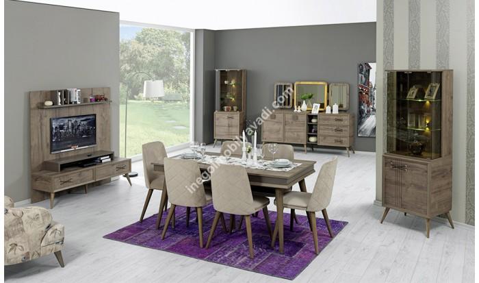 inegöl mobilya İnegöl Salvador Yemek Odası Takımı