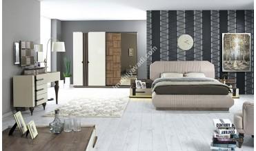 Milano Bazalı Yatak Odası Takımı