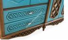 inegöl mobilya İnegöl Belis Mavi Country Yatak Odası Takımı