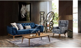 inegöl mobilya Auro Koltuk Takımı 3+3+1