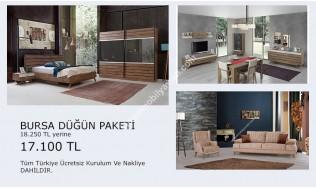 inegöl mobilya Bursa Düğün Paketi
