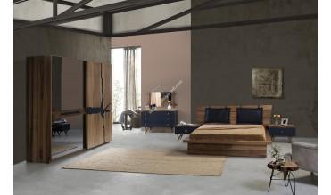 Wood Antrasit Yatak Odası Takımı