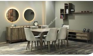 inegöl mobilya Bahar Yemek Odası Takımı