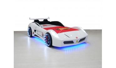 Formula V7 Beyaz Araba Yatak