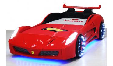 Formula V7 Kırmızı Araba Yatak