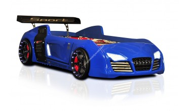 Ralli V8 Mavi Araba Yatak