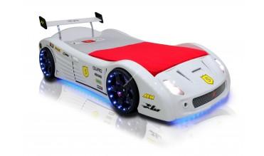 Turbo V5 Beyaz Araba Yatak