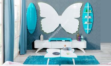 Kelebek Duvar Ünitesi Takımı