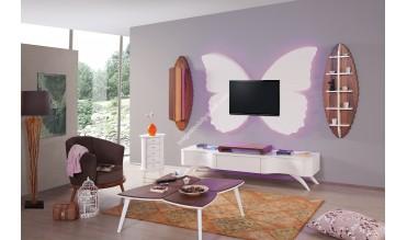 Kelebek 1 Duvar Ünitesi Takımı