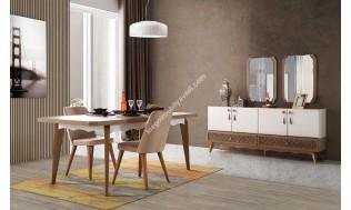 inegöl mobilya Alara Yemek Odası Takımı