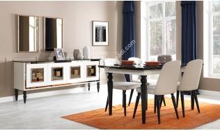 inegöl mobilya Nosta Artdeco Yemek Odası Takımı