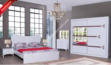 Karnaval Beyaz 205 Yatak Odası Takımı
