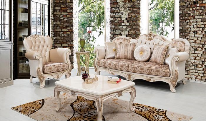 inegöl mobilya İnegöl Saray Klasik Koltuk Takımı
