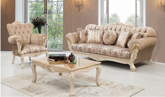 inegöl mobilya İnegöl Sultan Klasik Koltuk Takımı