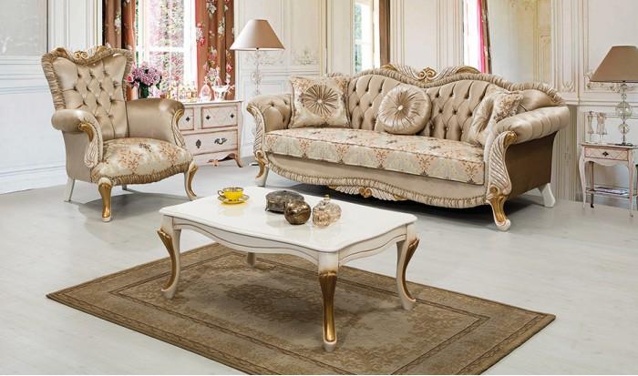 inegöl mobilya inegöl Yaprak Klasik koltuk Takımı