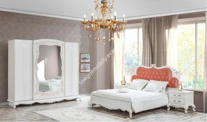 inegöl mobilya İnegöl İnci Yatak Odası Takımı