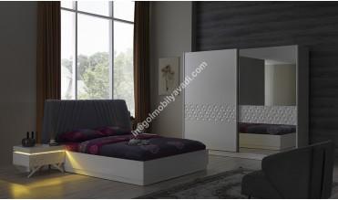 Royal Beyaz Yatak Odası Takımı