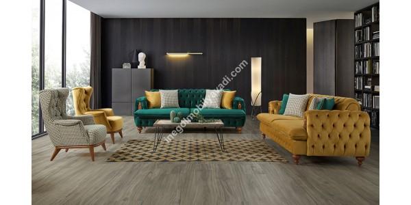 inegöl mobilya Rixos Modern Koltuk Takımı 3+3+1