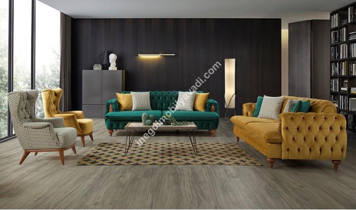 inegöl mobilya İnegöl Rixos Modern Koltuk Takımı