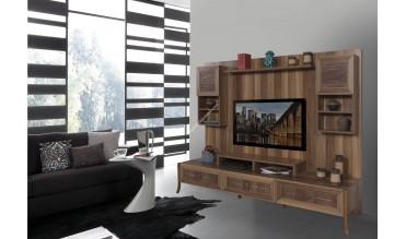 Wood Duvar Ünitesi Takımı
